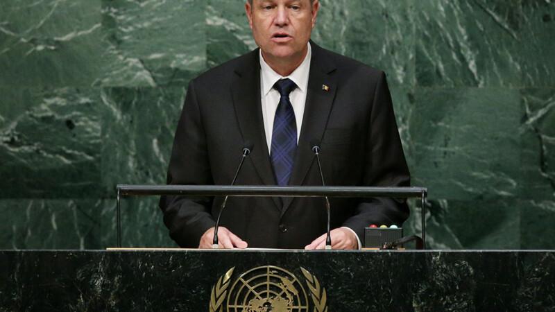 Klaus Iohannis, discurs la ONU