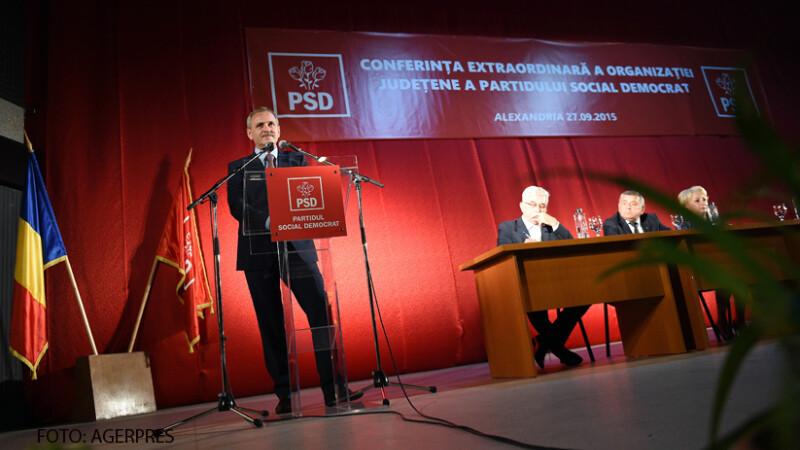 Liviu Dragnea la lansarea candidaturii