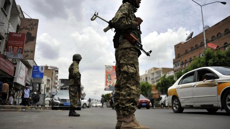 soldati, Yemen - getty