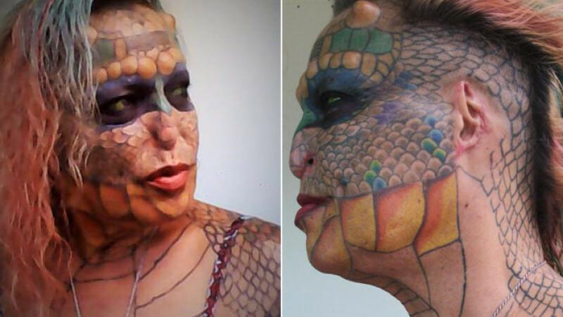 femeia dragon
