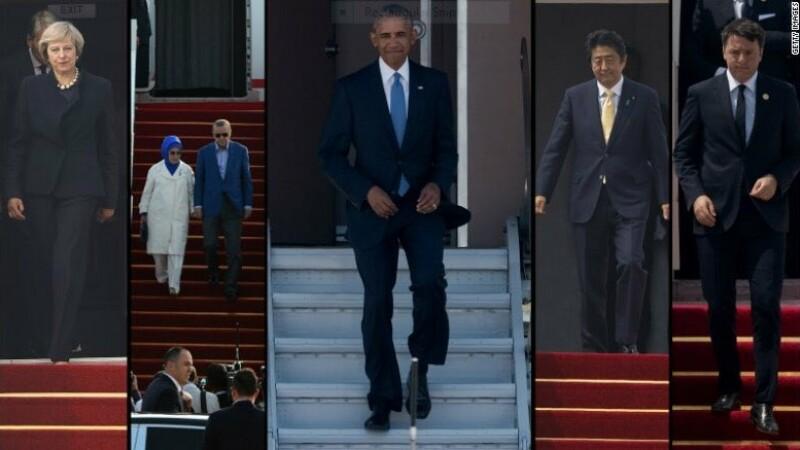 Filmul evenimentelor din prima zi a summitului G20. Reactia lui Barack Obama dupa ce chinezii l-au lasat fara covor rosu