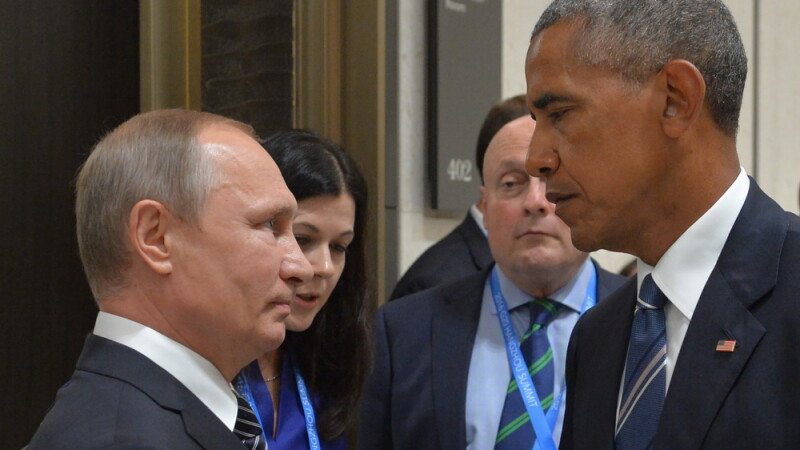 Obama si Putin la G20 - AFP/Getty