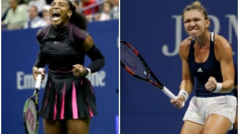 Presa internationala: O confruntare titanica. Serena Williams ii supravietuieste Simonei Halep intr-un meci epic