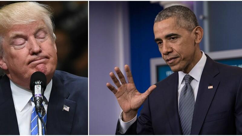 Donald Trump, Barack Obama - GETTY