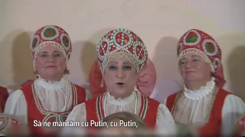 clip satiric despre Vladimir Putin