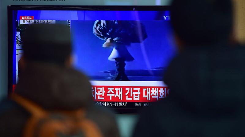testul nuclear nord-coreean