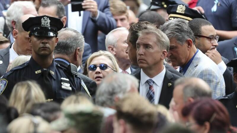 Hillary Clinton, comemorare 9/11