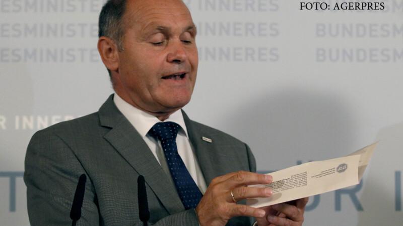 WOlfgang Sobotka, ministru de interne austriac
