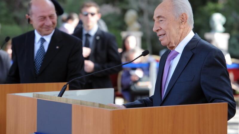 Fostul presedinte israelian Shimon Peres, spitalizat dupa un accident cerebral. In ce stare se afla