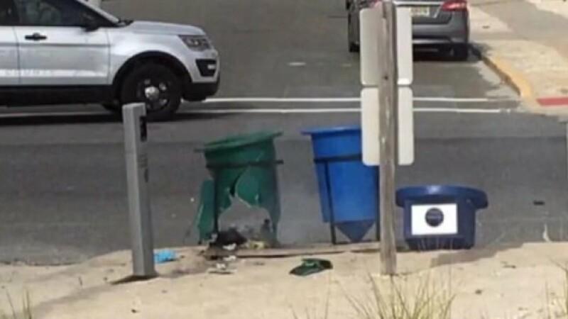 O bomba ascunsa a explodat pe traseul unei competitii de alergat din New Jersey. Competitia a fost anulata