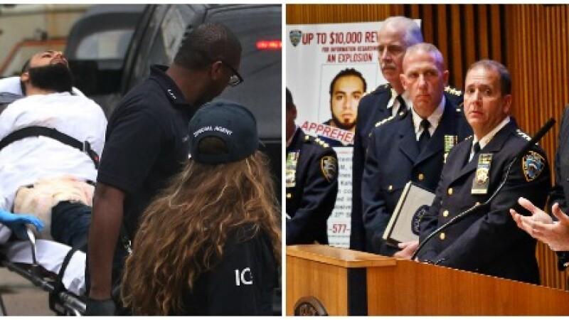 Principalul suspect in cazul exploziei din New York, prins.