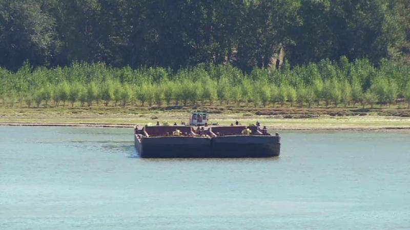 Situatie de criza pe Dunare. Armatorii romani risca sa ramana cu navele blocate in nisip