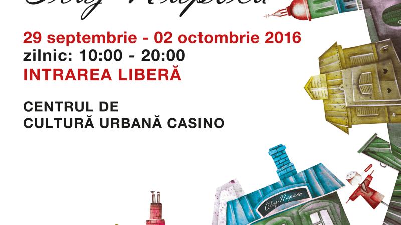 Salonul de Carte Bookfest revine la Cluj-Napoca cu a cincea editie
