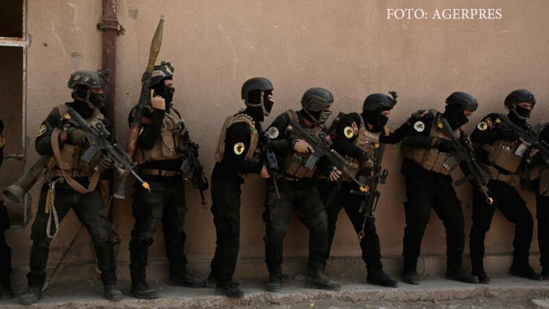 Trupe guvernamentale irakiene se antreneaza pentru asalatul asupra Mosulului