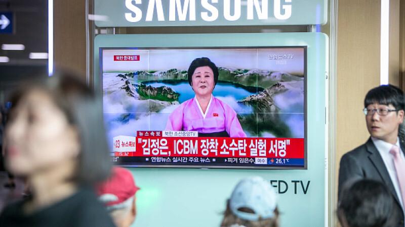 Mesajul UE după cea mai puternică bombă testată de Coreea de Nord. Ce au cerut Merkel si Macron