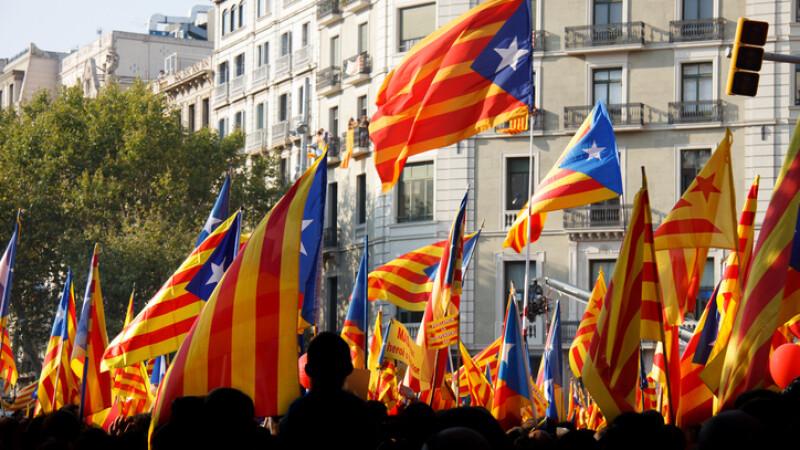 manifestatie ziua Cataloniei