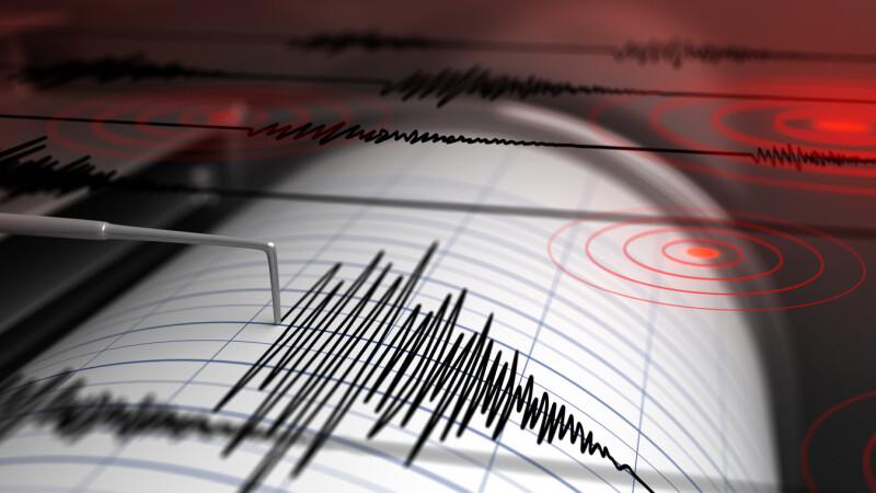 Cutremur cu magnitudinea 4,3, în Vrancea