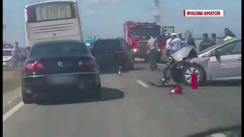 Dacian Cioloş şi soţia acestuia, implicaţi într-un accident rutier