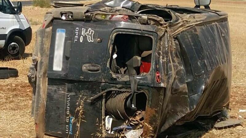 8 români, implicați într-un accident în Spania. O tânără gravidă a murit