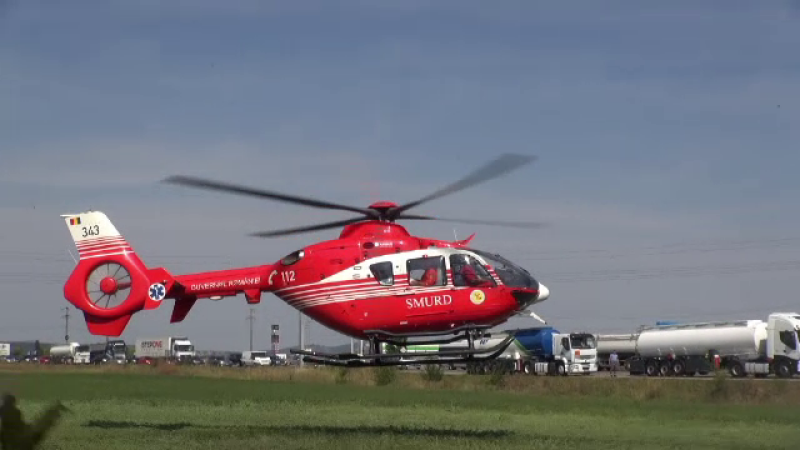 Femeie transportată cu elicopterul SMURD la spital, după ce a fost atacată de câinele său