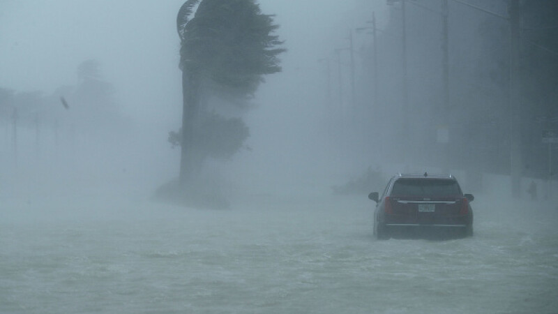 urmarile uraganului irma