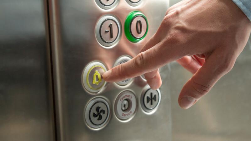 buton alarma lift