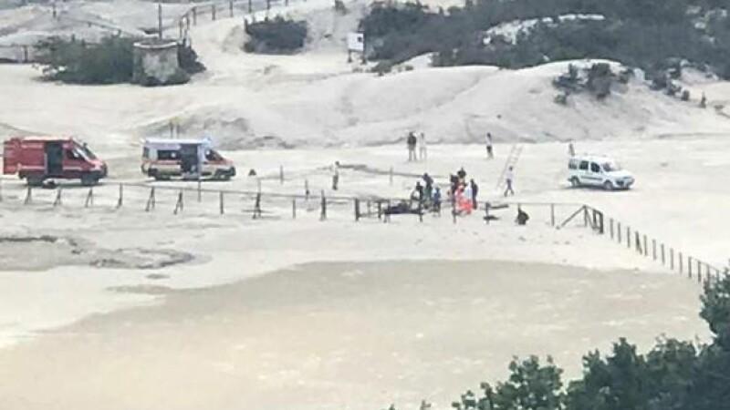 O familie a murit în craterul unui vulcan în Italia. Părinții ar fi încercat să-și salveze copilul