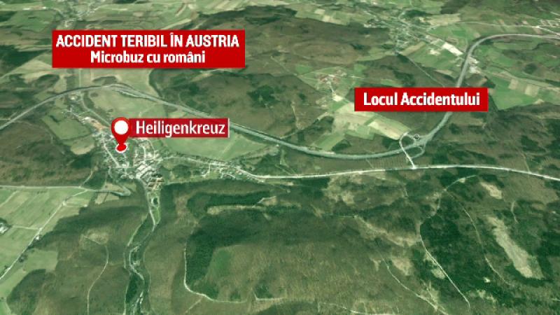 accidente, austria, decese, români