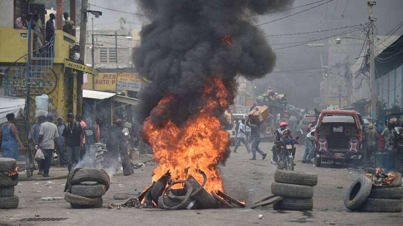 Proteste violente în Haiti