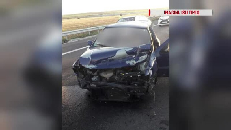 Accident mortal pe A1, provocat de un șofer bulgar