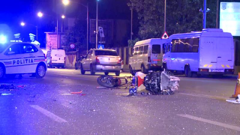 Accident grav pe șoseaua Olteniței