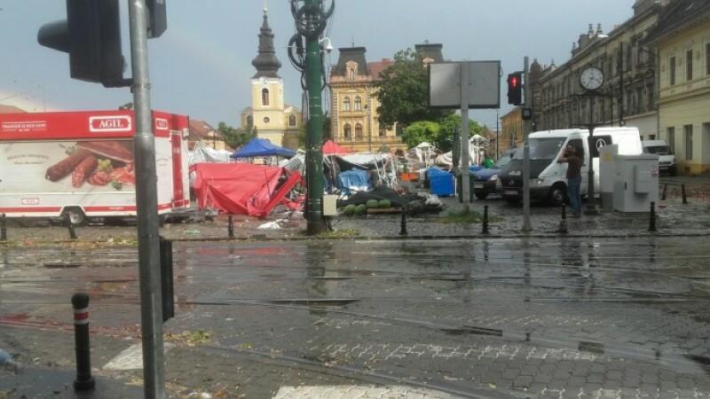 furtună Timișoara