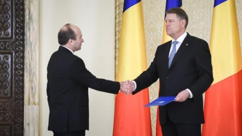 Klaus Iohannis si Tudorel Toader