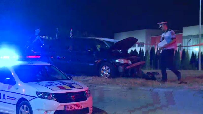 Ce au descoperit polițiștii în mașina unui bărbat din Capitală implicat într-un accident