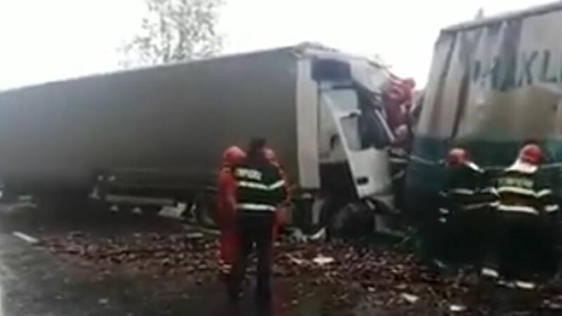 accident valcea tir