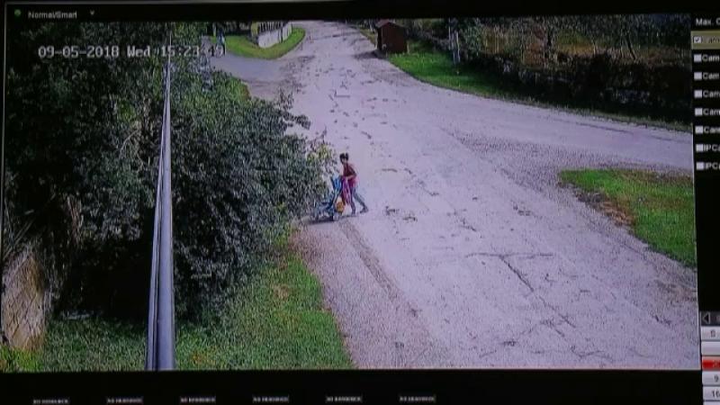 Momentul în care o mamă și fiica ei sunt spulberate de un șofer băut. Accidentul, surprins de camere