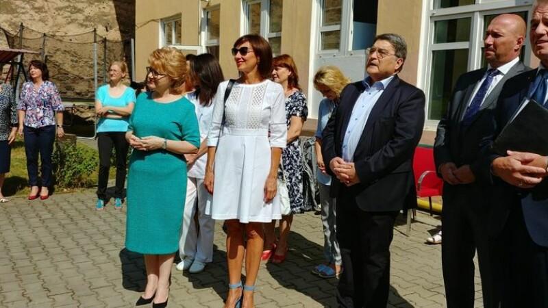 Carmen Iohannis, prezentă la inaugurarea unui loc de joacă în Sibiu