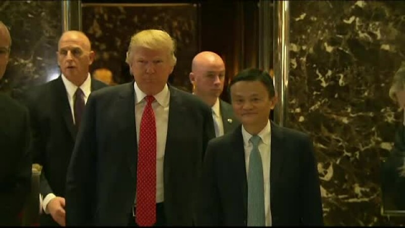 Donald Trump şi Jack Ma