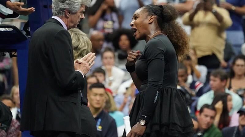O legendă a tenisului mondial dă de pământ cu Serena Williams după scandalul de la US Open