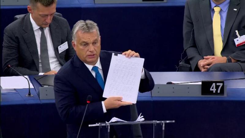 Gestul lui Viktor Orban după ce i-a numit