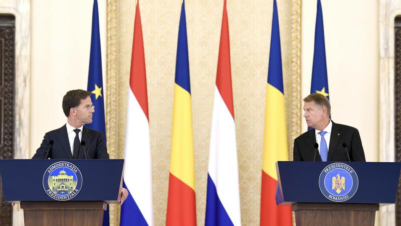 """Premierul Olandei: """"Avem o serie de îngrijorări și noi cu privire la statul de drept"""" din România"""