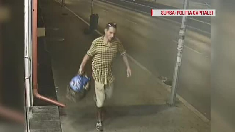 Un bărbat care a agresat sexual o femeie, căutat de poliție. Filmul atacului de la metrou