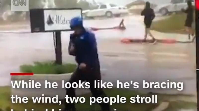 Filmare virală cu un meteorolog. Ce s-a întâmplat într-o transmisiune în direct. VIDEO
