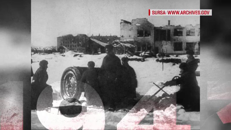"""""""100 de ani în 100 de zile"""". 1943: Armata germană şi cea română sunt înfrânte de trupele sovietice"""