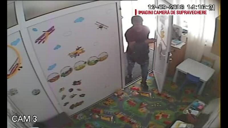 Bărbat căutat pentru un furt dintr-o grădiniţă pentru copii cu autism
