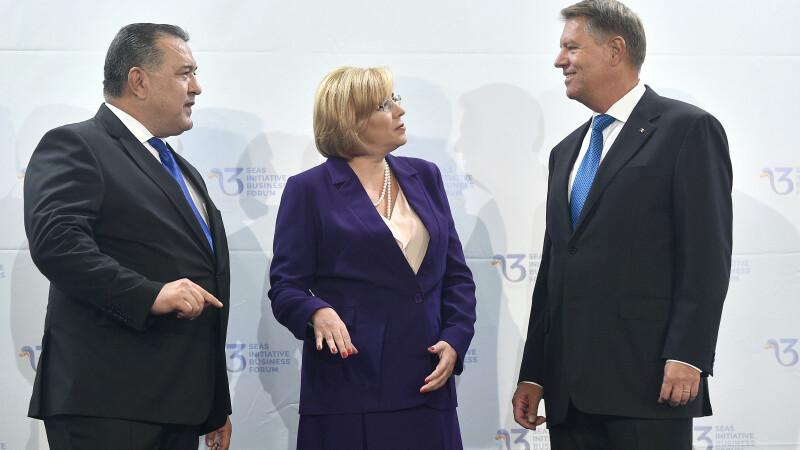 Mihai Daraban, Corina Cretu, Klaus Iohannis
