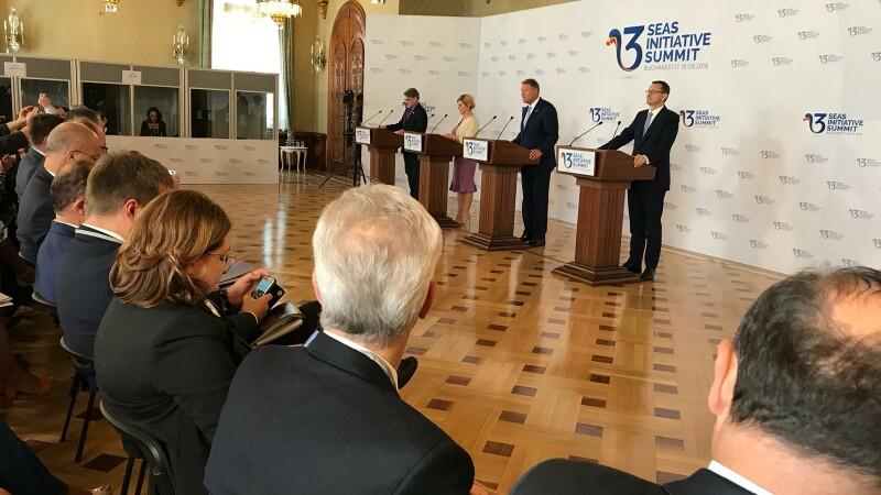 """Declarație comună, adoptată la summit. Iohannis: """"A fost o reuniune de succes"""""""