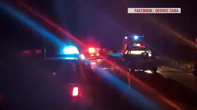 Polițiști răniți în timpul unei misiuni, în Bihor. Mașina lor, lovită chiar de șoferul urmărit