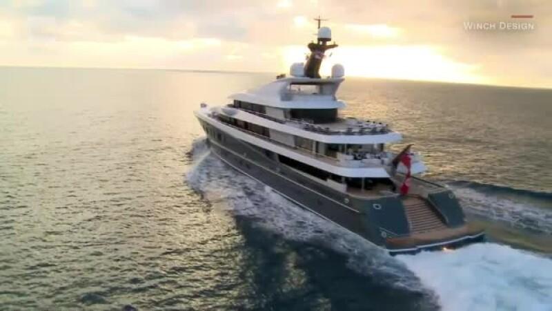 Cum arată un iaht care costă peste o sută de milioane de euro