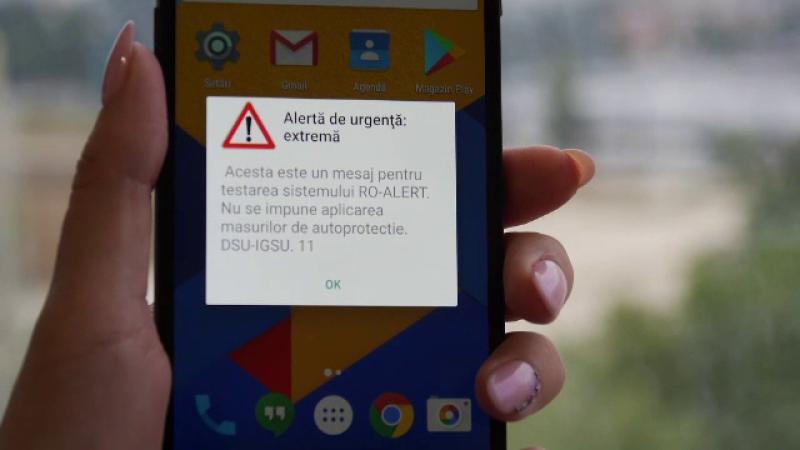 DSU: Posesorii de telefoane mobile iPhone vor putea primi şi ei mesajele RO-ALERT